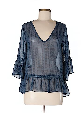Bongo Women 3/4 Sleeve Blouse Size M