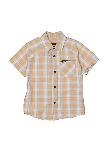 Hurley Short Sleeve Button-Down Shirt Size 4