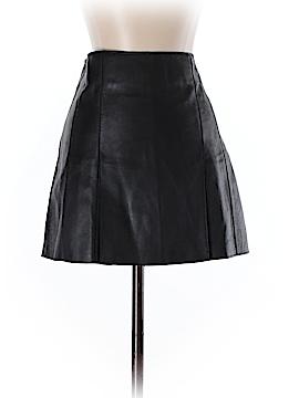 Bebe Leather Skirt Size 4