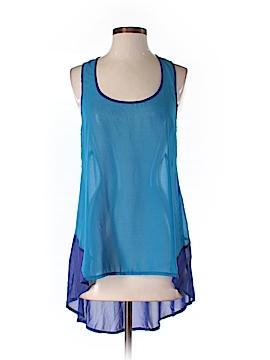 Ya Sleeveless Silk Top Size S
