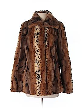 Dennis by Dennis Basso Faux Fur Jacket Size XS