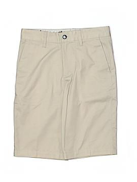 Volcom Khaki Shorts 27 Waist