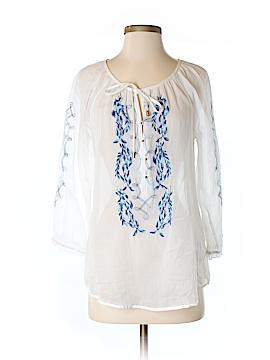 Nine West Vintage America 3/4 Sleeve Blouse Size S