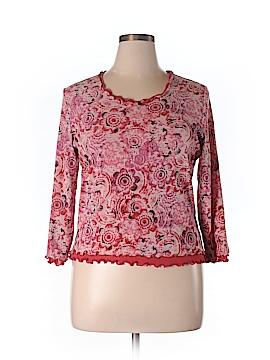 Sigrid Olsen Long Sleeve Blouse Size XL
