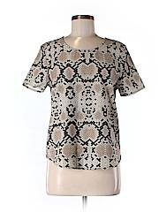 Shilla Women Short Sleeve Blouse Size S
