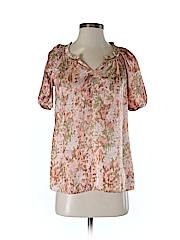 Talbots Women Short Sleeve Blouse Size P (Petite)