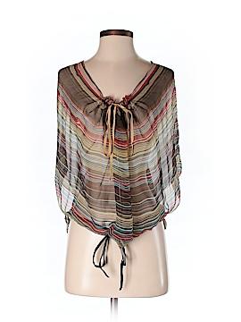 Rozae Nichols Short Sleeve Blouse Size S