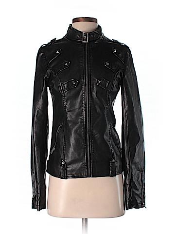 Daytrip Faux Leather Jacket Size S