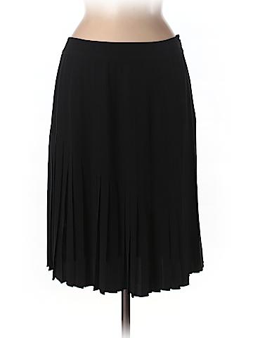Magaschoni Women Silk Skirt Size 8