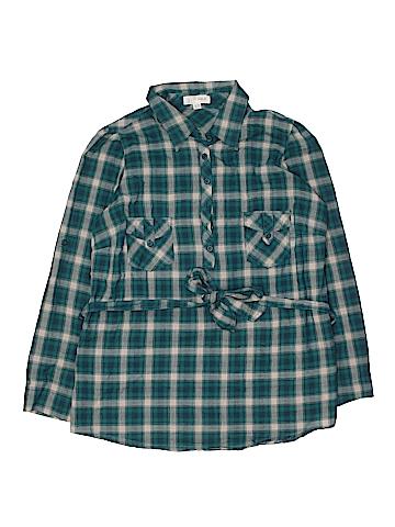 Faith 21 Long Sleeve Button-Down Shirt Size XL