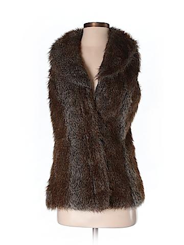 Revue Women Faux Fur Vest Size S