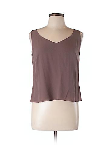 AKRIS Sleeveless Silk Top Size 12