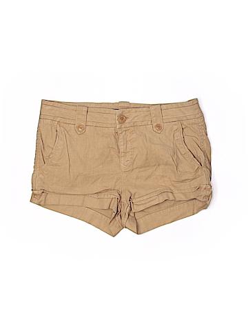 Level 99 Women Khaki Shorts 27 Waist