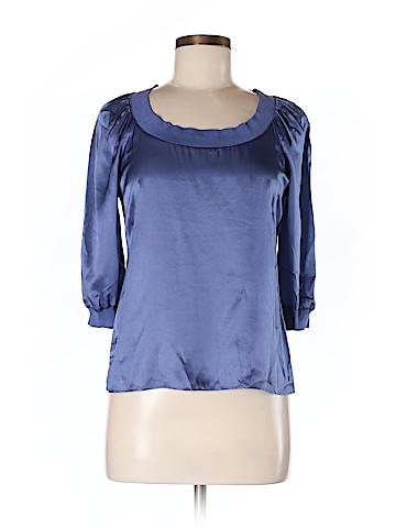 Banana Republic Women 3/4 Sleeve Silk Top Size XS