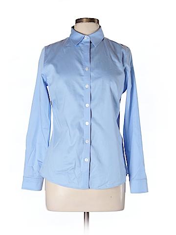 Banana Republic Long Sleeve Button-Down Shirt Size 10 (Petite)