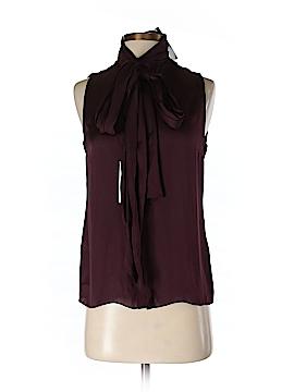 Ralph Lauren Black Label Sleeveless Silk Top Size 2