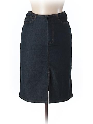 Topshop Denim Skirt Size 8