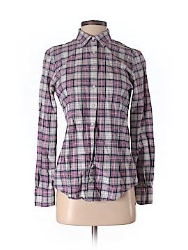 Brooks Long Sleeve Button-Down Shirt Size 4