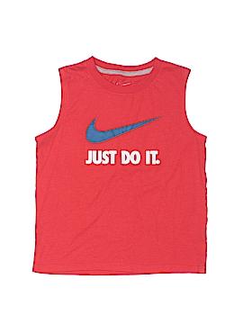 Nike Sleeveless T-Shirt Size 7