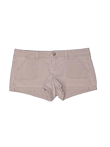 Hollister Khaki Shorts Size 4