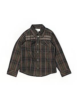 Diesel Long Sleeve Button-Down Shirt Size 4T