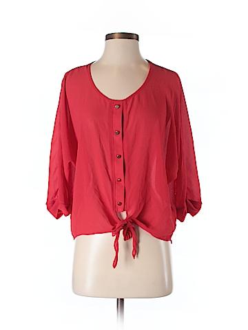 Forever 21 Women 3/4 Sleeve Blouse Size S