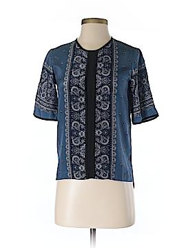 Madewell Short Sleeve Silk Top Size XXS