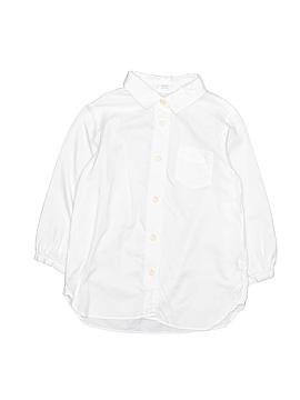 Crewcuts 3/4 Sleeve Button-Down Shirt Size 6