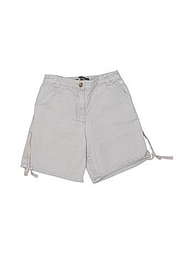 Lili Gaufrette Khaki Shorts Size 4