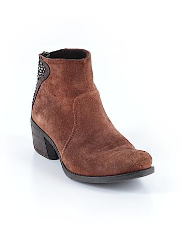 Vera Pelle Women Ankle Boots Size 36 (EU)