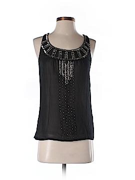 Jacqui-E Sleeveless Silk Top Size 6