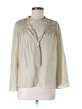 Corey Lynn Calter Long Sleeve Silk Top Size 6