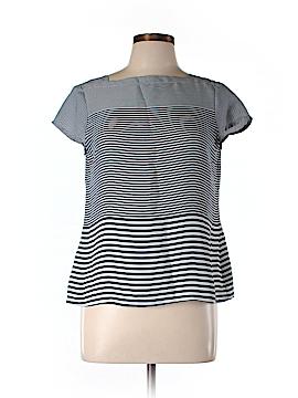 Ann Taylor LOFT Women Short Sleeve Blouse Size M (Petite)