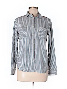 Steven Alan Long Sleeve Button-Down Shirt Size M