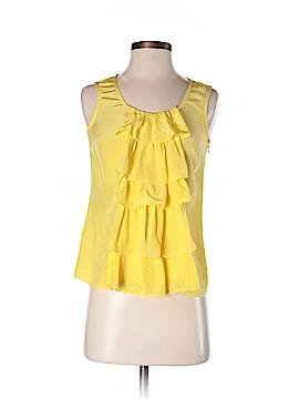 Sine Sleeveless Silk Top Size 0