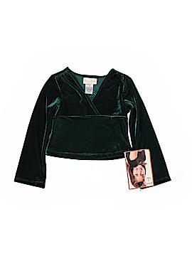 Jenny & Me Long Sleeve Blouse Size 4