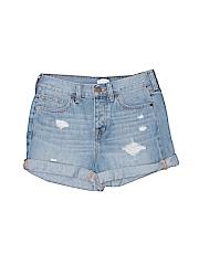 J. Crew Factory Store Denim Shorts 24 Waist