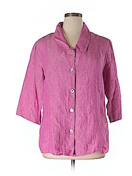 Tsd by Stella Carakasi 3/4 Sleeve Blouse Size XL