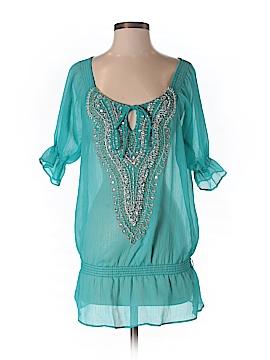 Kay Celine Short Sleeve Blouse Size S
