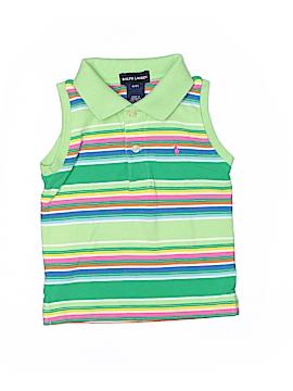 Ralph Lauren Sleeveless Polo Size 4T