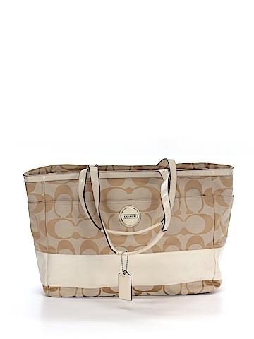 Coach Factory Diaper Bag One Size