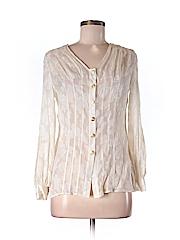 Walter Women Long Sleeve Silk Top Size 2