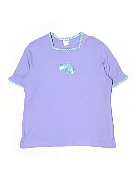 BonWorth Short Sleeve Top Size L