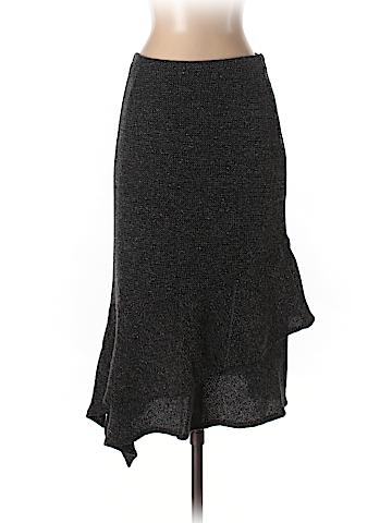 Rene Lezard Women Wool Skirt Size 36 (EU)