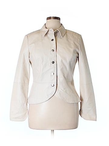 Shape FX Leather Jacket Size 14