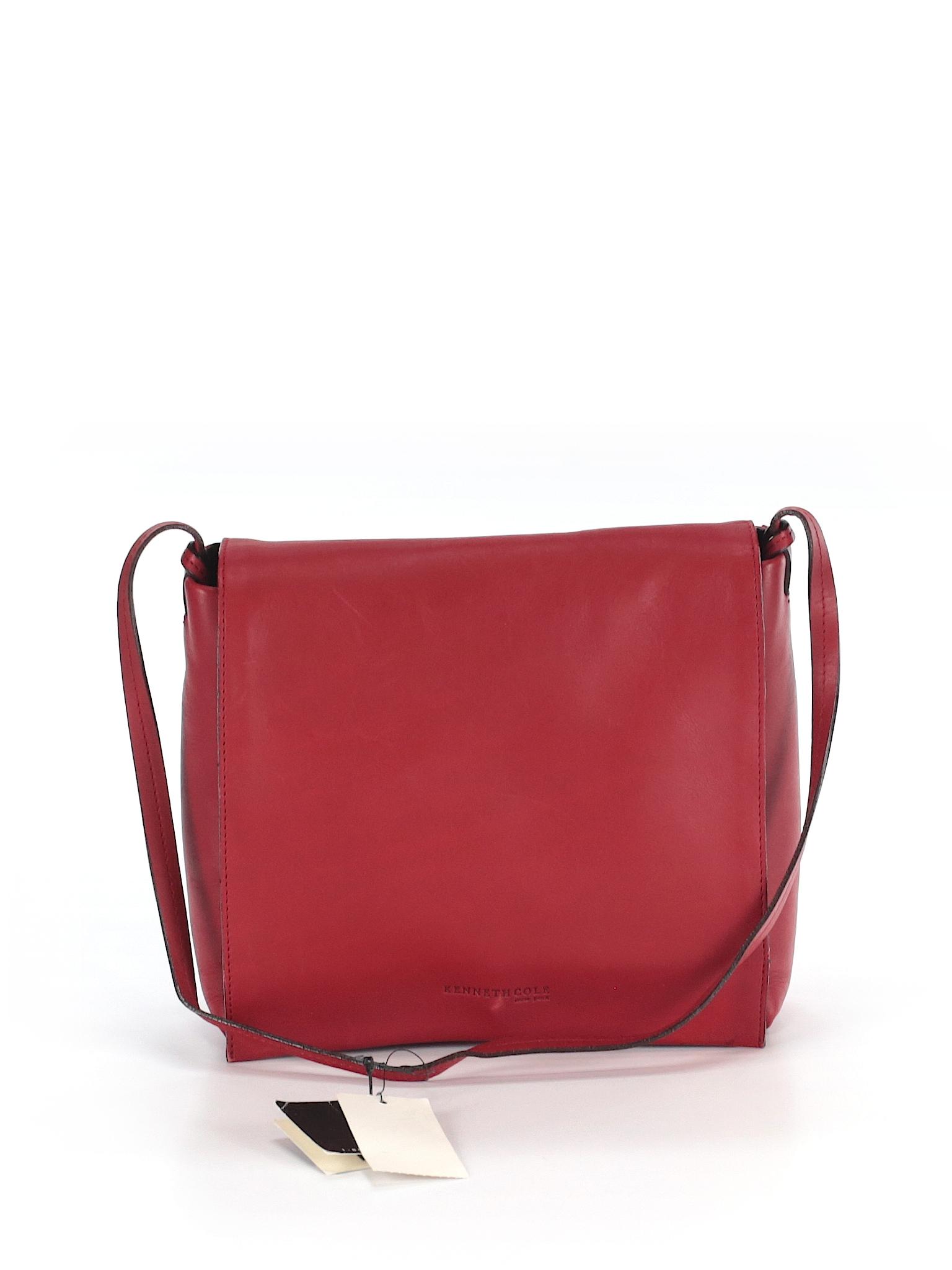 kenneth cole new york leather shoulder bag 66 off only on thredup. Black Bedroom Furniture Sets. Home Design Ideas