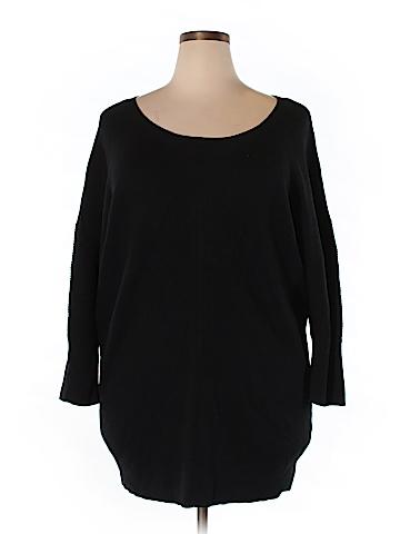 Caslon Pullover Sweater Size 3X (Plus)