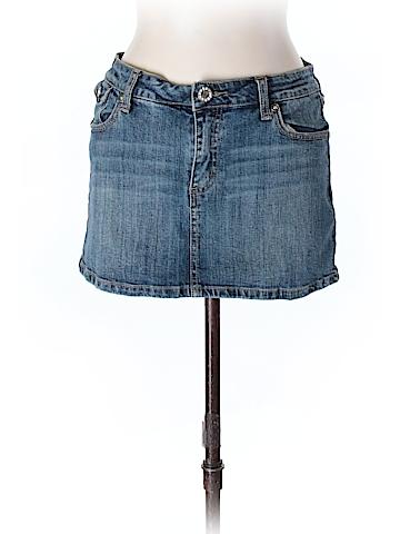 H&g Denim Skirt Size L