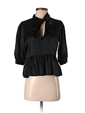 LaROK 3/4 Sleeve Silk Top Size S