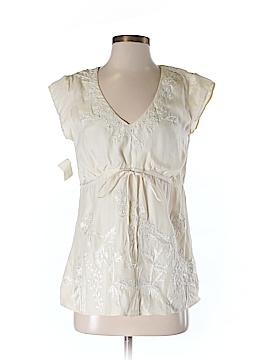 Dana Buchman Short Sleeve Blouse Size 4